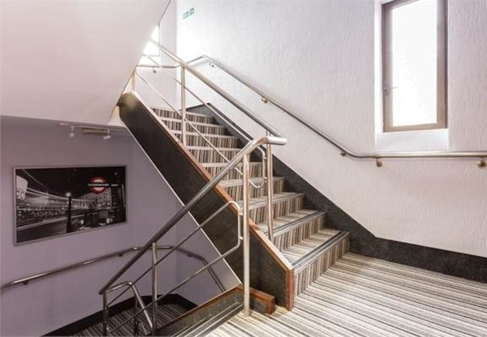 Staircase to the flat