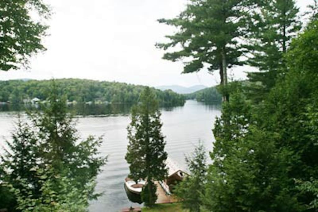 View from house- Lake Flower