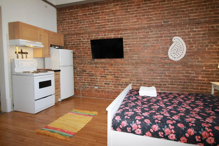 Sunny Loft close to Hospital / Metro / downtown