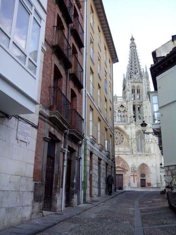 Dormir junto a la Catedral,  como lo hizo el CID - Burgos - Lägenhet