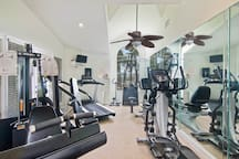 Gym Access with Fob. Fob located in condo to the left of the Front door