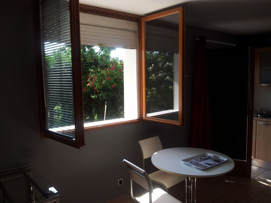 studio avec terrasse privative annecy apartments for rent in cran gevrier auvergne rh ne. Black Bedroom Furniture Sets. Home Design Ideas