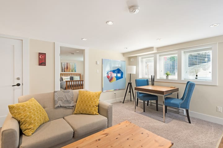 Modern suite in a historic N. Van character home