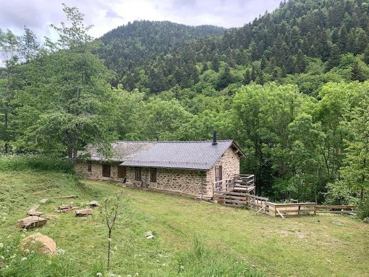Maison/ Grange de montagne cadre idyllique