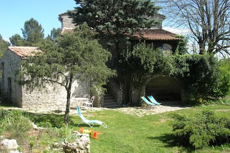 independent cottage in ardeche - Les Vans - Talo