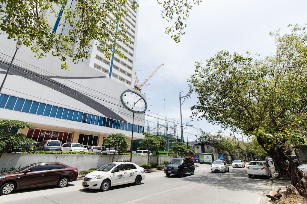 Bel-Air is considered as one of the greenest and cleanest area of Makati