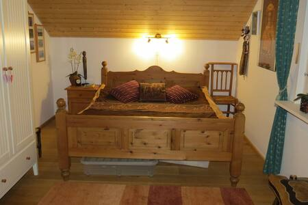 Amazing view,cosy room in the Alps - Bed & Breakfast