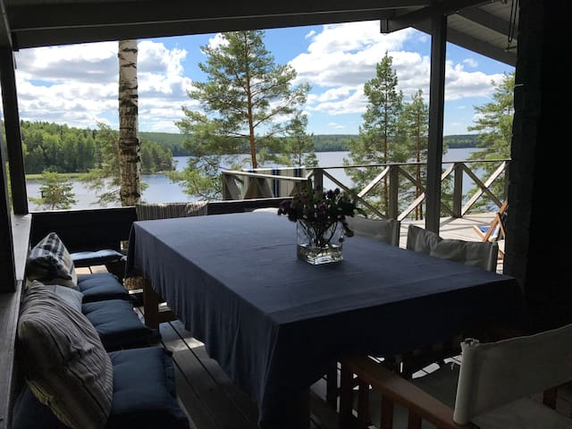 Lakehouse with wonderful view and clean water