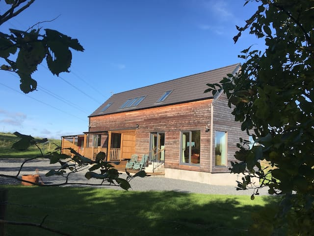New built eco house, only 2 miles from Inverurie