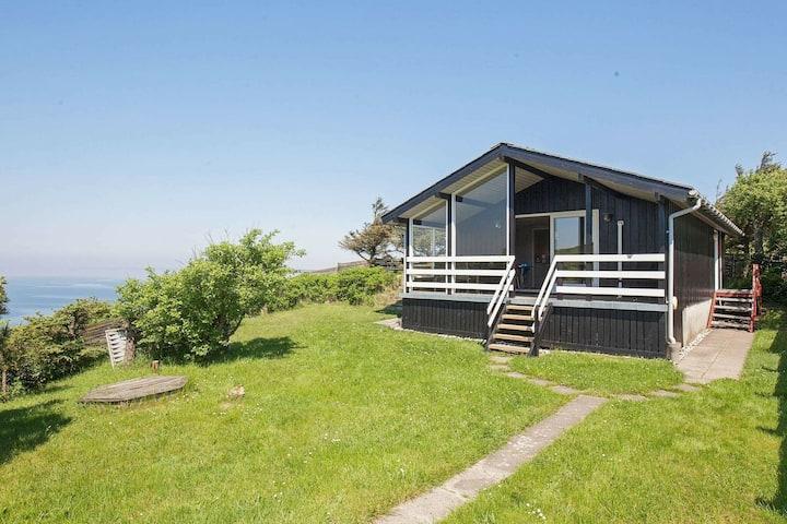 Maison de vacances de charme à Struer avec Fjord