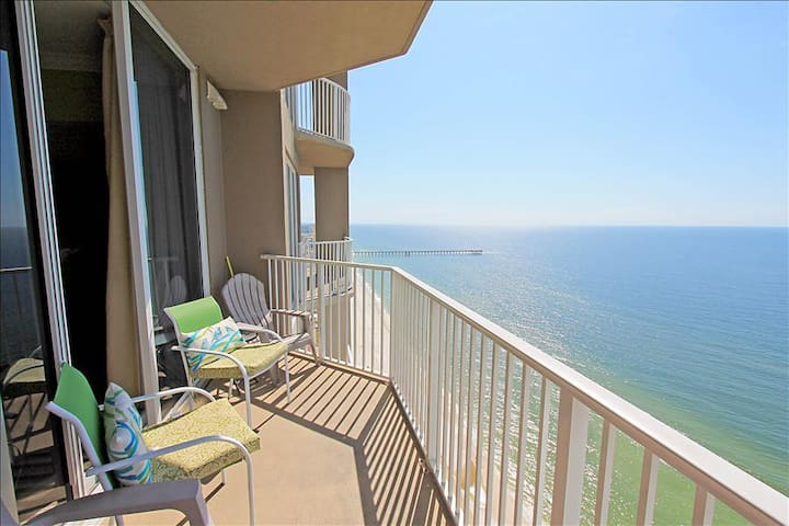 ☼Amazing Gulf Views@ Tidewater II 2816☼Snowbirds $1350/mo Nov-Feb! Beach Front!