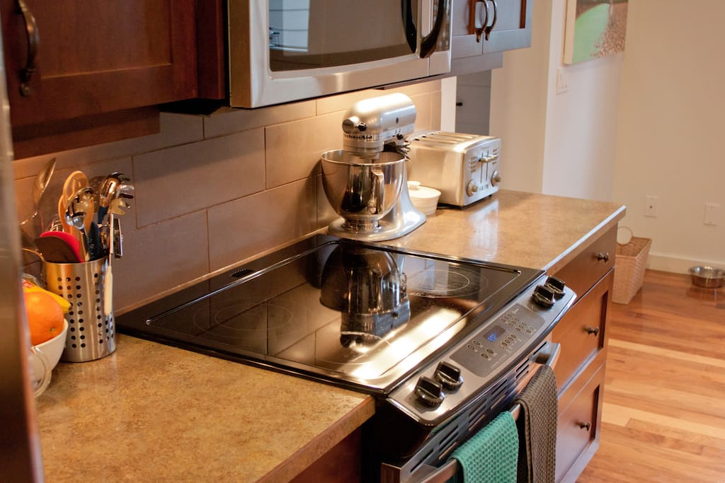 Kitchen and Appliances.