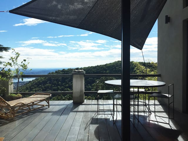 Bright house & sunny terraces at Sacro Monte