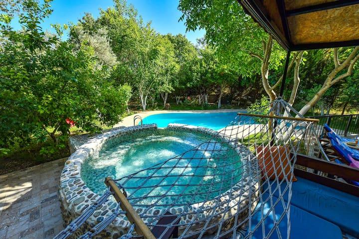 Villa Almond 2 Bedroom, Honeymoon Villa in Kayaköy