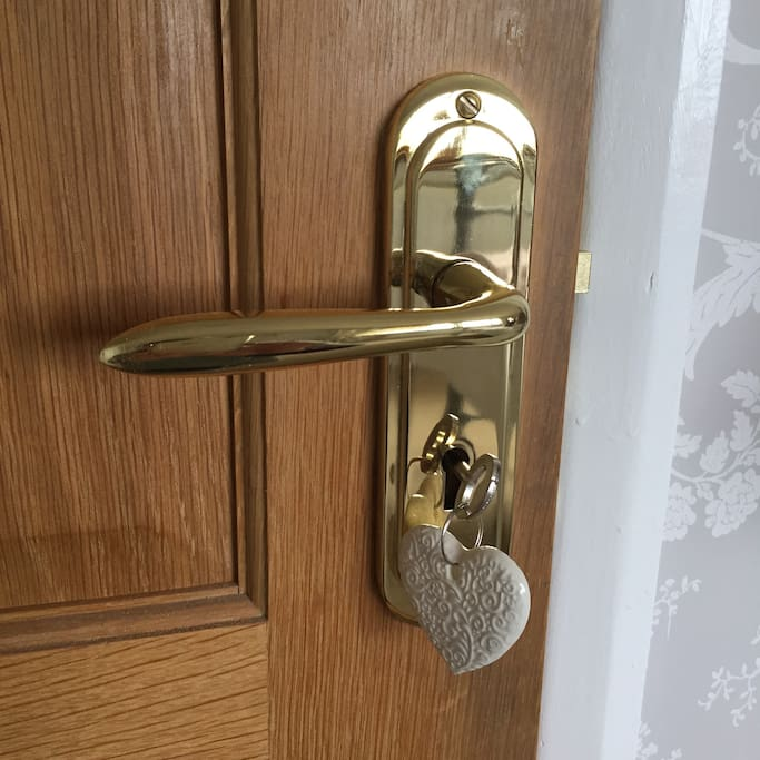 All your rooms have individual locks