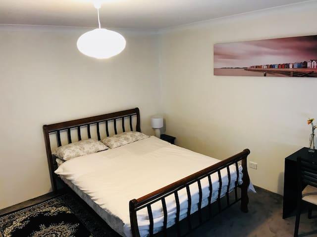 Comfy Huge Master Bedroom