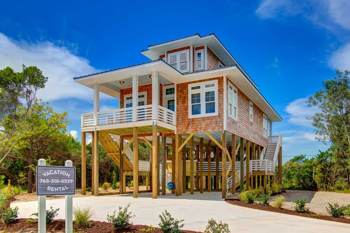 New Frisco NC Home with amazing Views