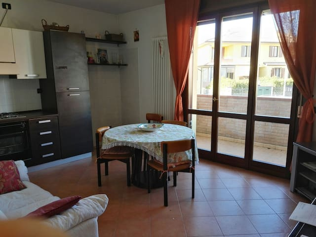 Apartment ground floor with garden. - Noceto - Apartamento