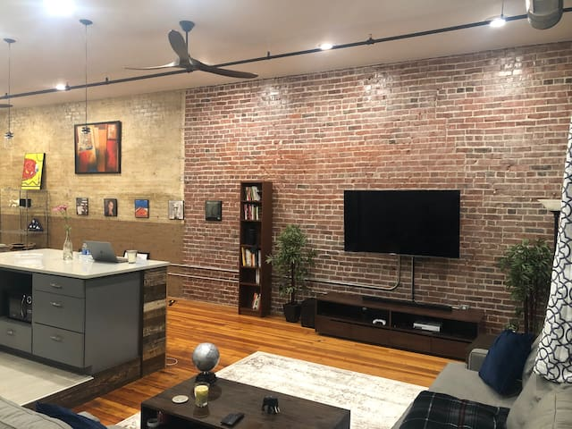 Newly Renovated Loft Apartment in Downtown Spgfld