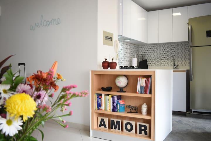 Comfy bedroom in Bogotá