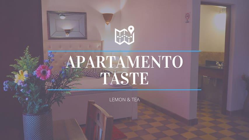 """APARTAMENTO TASTE """"LEMON & TEA"""""""