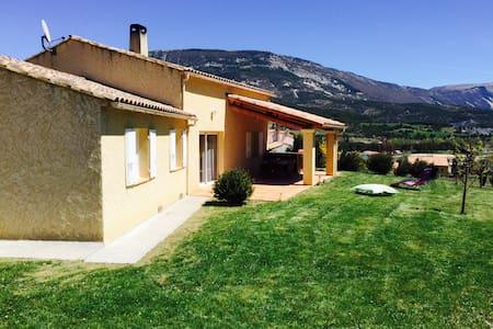 Villa avec vue sur le Lac de Castillon - Saint-André-les-Alpes