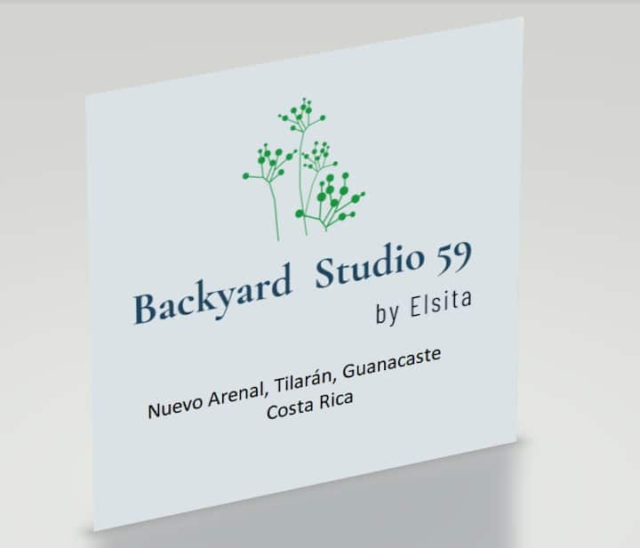 Backyard Studio 59–Low cost, amazing place!
