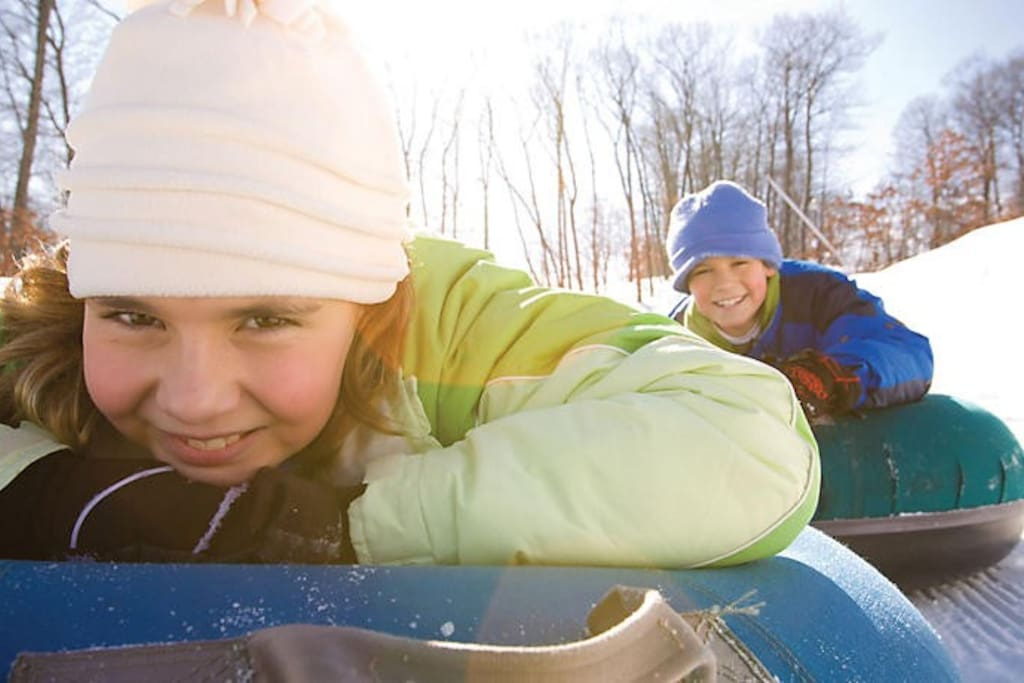 Tubing fun for all ages!