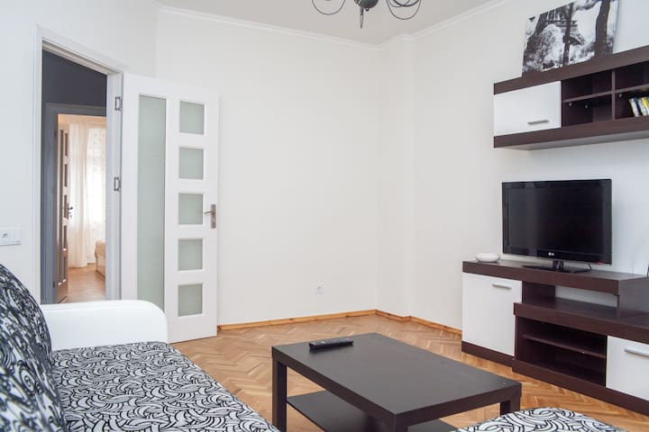 Nice two-room apartment in center - Chişinău - Appartement