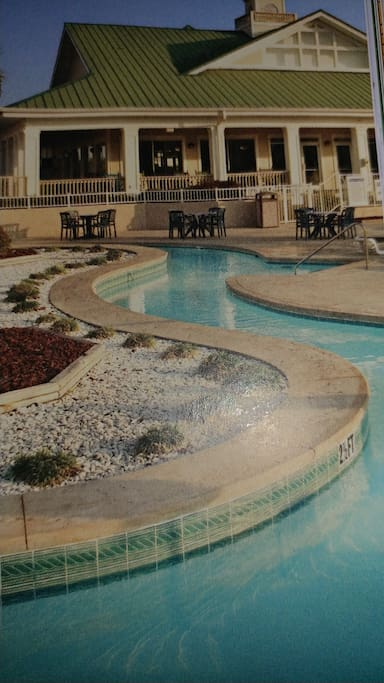Lazy River at pool area