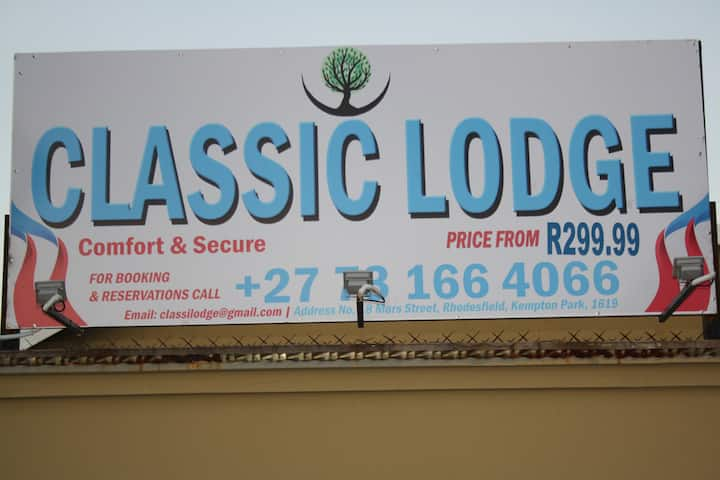 Classic Lodge - Comfort & Secure