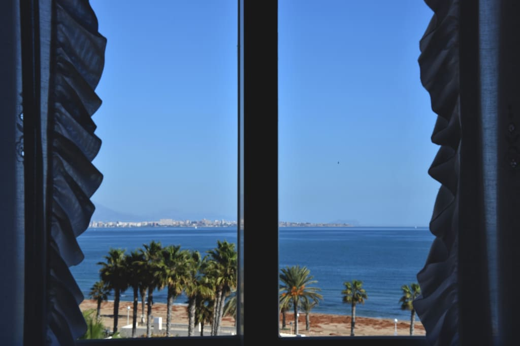 View from main bed room