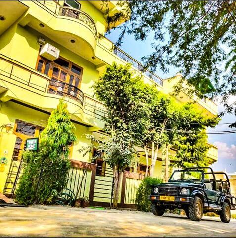 Tigre en casa Ranthambore