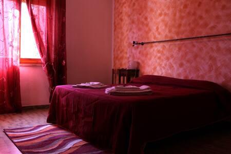 B&B Le Rocche in Val d'Orcia - Camera Rossa 4 - Castiglione d'Orcia - Bed & Breakfast