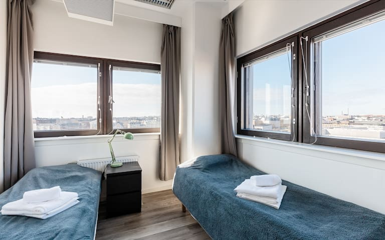 Sky Hostel Helsinki / Cozy rooms and amazing views