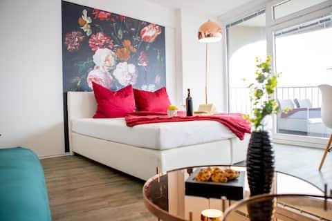 Appartement moderne avec une belle vue sur Augsbourg