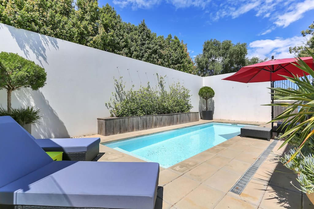 Relax around our gorgeous pool