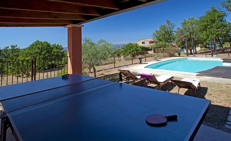 Villa mit Pool am Rande von Bonnieux (807 BON) - Buoux - Huis