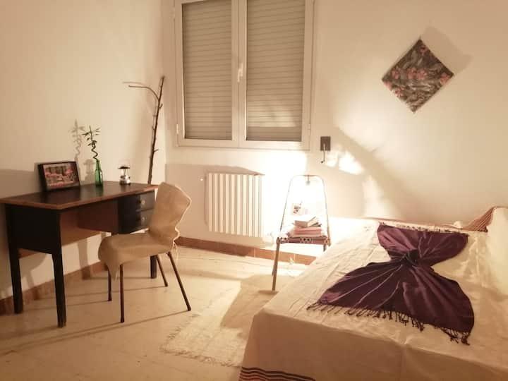 Chambre privée à la Marsa 15min  de la plage