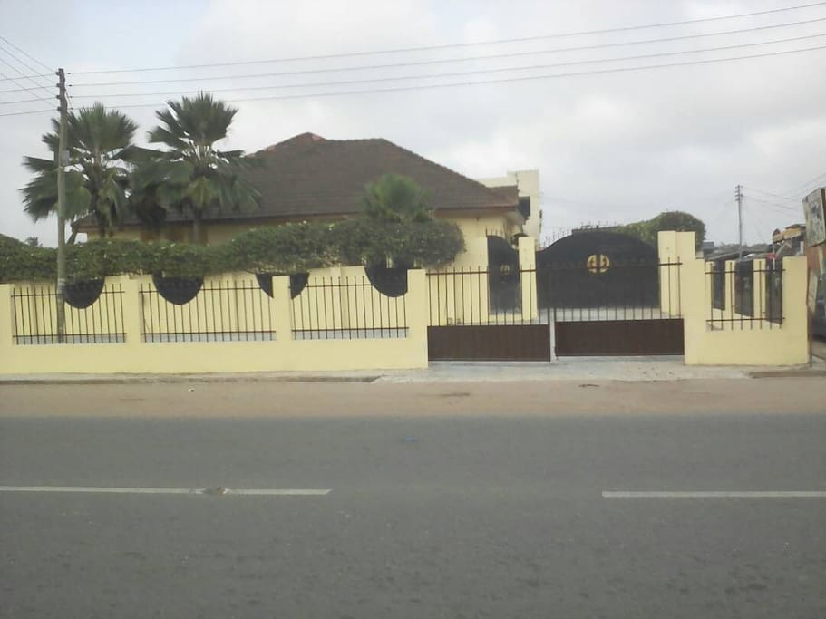 Street view of front entrance