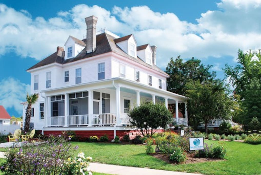 Here at the Bay Haven Inn of Cape Charles we want you to feel at home. Please visit our website for our BEST rates, more photos and more information about the inn! Cheers!