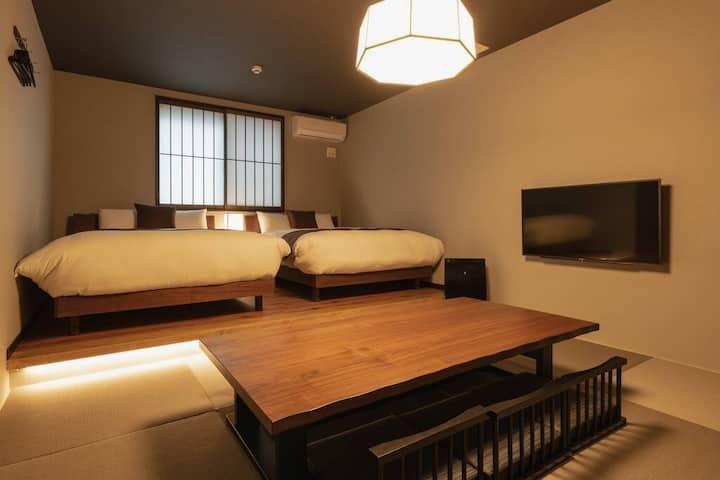 2019年夏オープン☆最大8名収容の新築和モダンテイストのお部屋