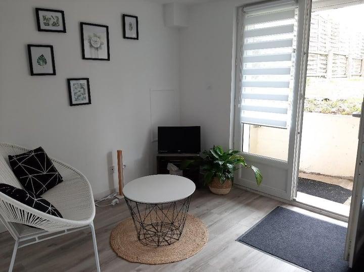 Studio cosy, entièrement rénové