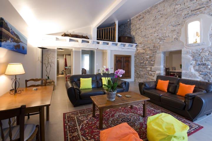 Maison basque 12 pers. Guéthary proche de la mer - Guéthary - Villa