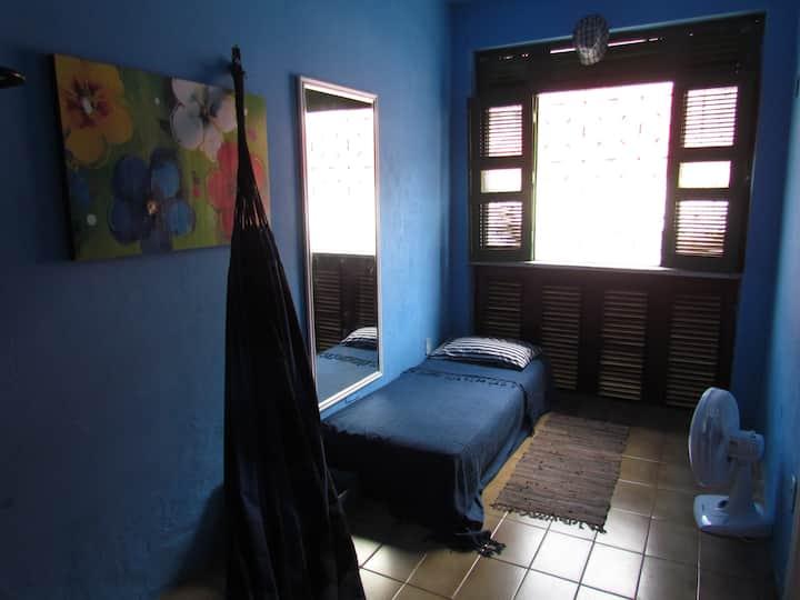 Hostel Casa Amarela - Centro Histórico-QUARTO AZUL