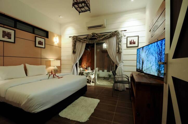 Superior room@Kinta Bali Villa