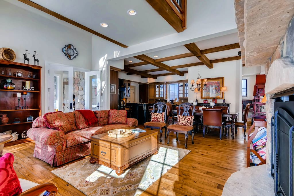 Great Room - opens into Dining Area, Kitchen and Family Room!