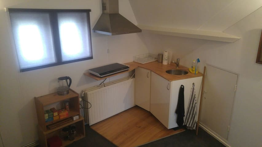 kitchenette (situated in bedroom)