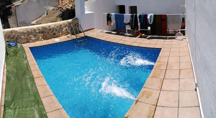 Villa with 3 bedrooms in Villa de Ves, with private pool, enclosed garden and WiFi