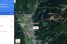 Distanza a piedi dall'abitazione alle funivie Ski Area Pinzolo